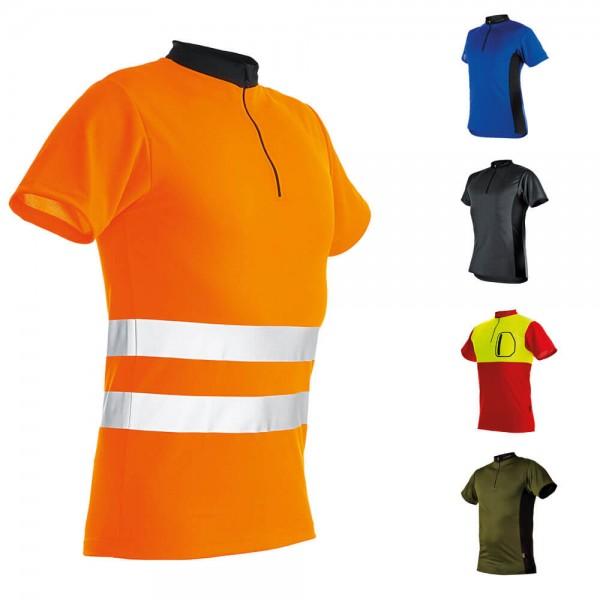 PFANNER Zipp-Neck Shirt kurzarm Herren
