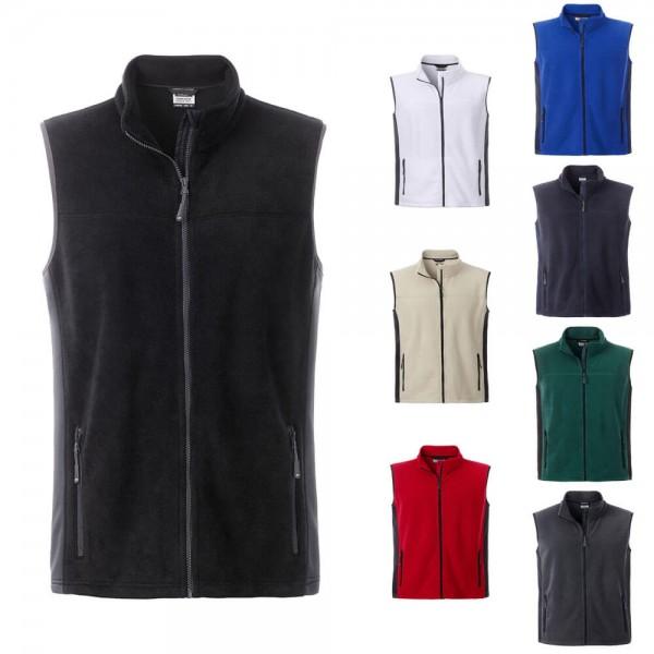Workwear Fleece Weste Herren in 8 verschiedene Farben JN856 kaufen