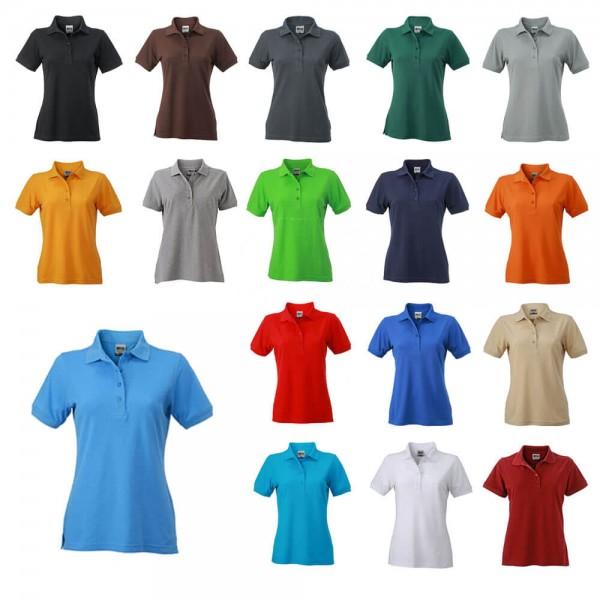 JN 829 Arbeits Poloshirt für Damen in 18 verschiedenen Farben Größe XS bis 4 XL kaufen