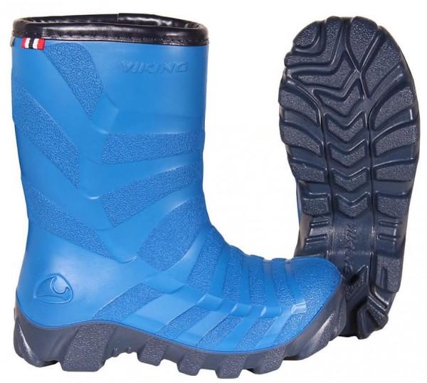 Viking Gummistiefel Kinder✔ warm gefüttert✔ Größe 21 bis 39✔ Viking Ultra 2.0 blue-navy✔