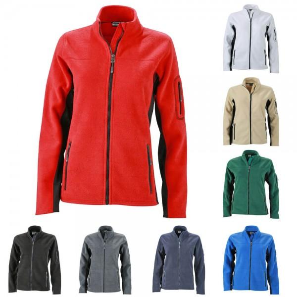 Workwear Damen Fleece Jacke JN841 in 8 verschiedenen Farben
