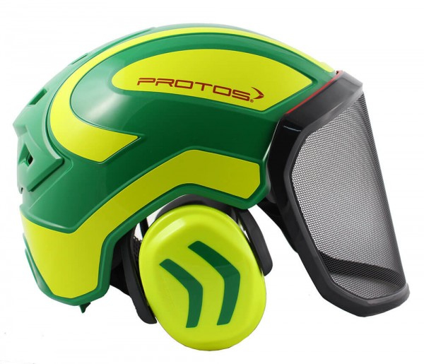 Protos Helm Integral Forest grün neongelb