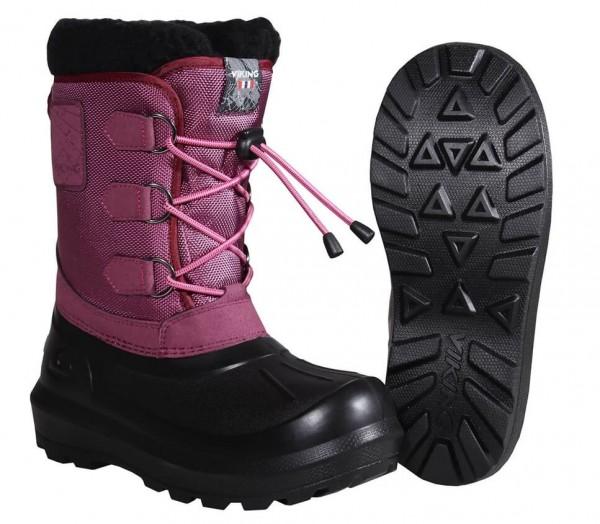 Viking Istind Winterstiefel✔ Größe 26 bis 35✔ Farbe Dark Pink-Black✔ 5-27200-3902✔