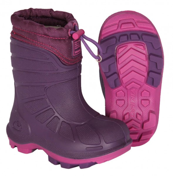 Viking EXTREME Winterstiefel purple-fuchsia Kinder