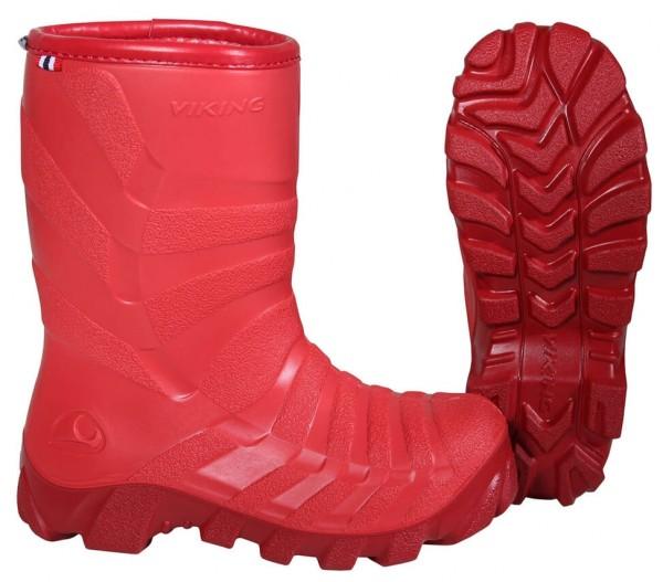 Schneestiefel Kinder✔ Größe 25 bis 35✔ Viking Ultra 2.0✔ Farbe rot✔ 100% PVC Frei✔