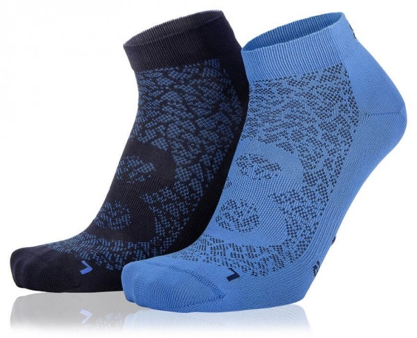 Sneaker Socken✔ Eightsox Nature1✔ 2er-Pack✔ blue france-ultramarine✔